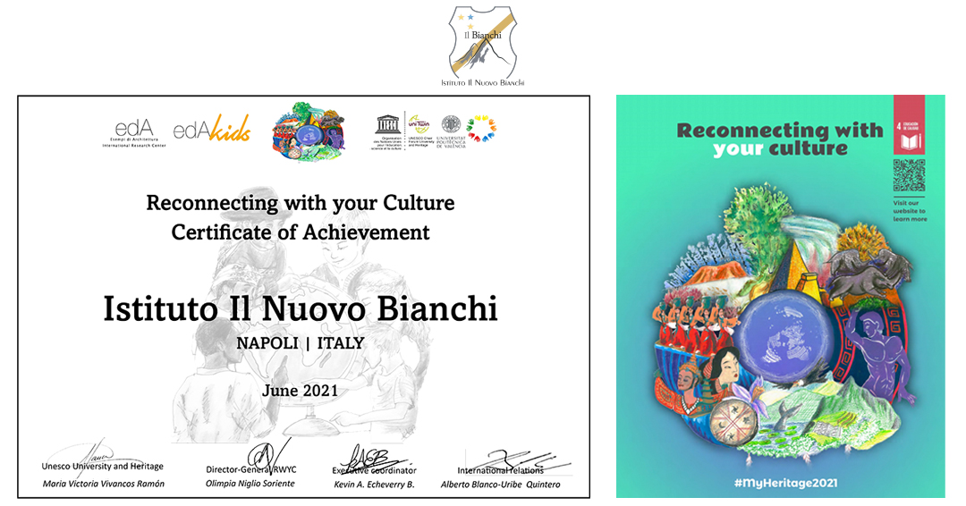 Reconnecting with your culture Certificate of Achievement