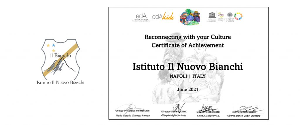 Certificate of Achievement – RECONNECTING WITH YOUR CULTURE